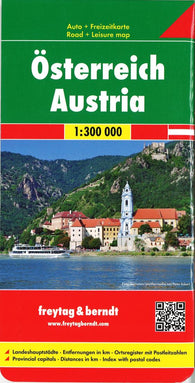 Buy map Austria by Freytag-Berndt und Artaria