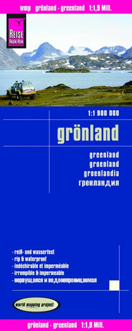 Buy map Greenland by Reise Know-How Verlag