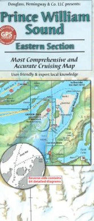 Buy map Prince William Sound, Alaska, Eastern Section by Fine Edge