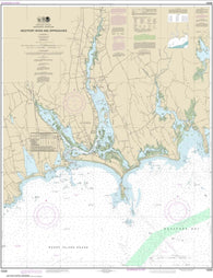 Buy map Westport River and Approaches (13228-12) by NOAA