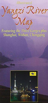 Buy map Yangzi River Map with Three Gorges by Odyssey Publications