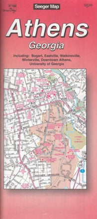Buy map Athens, Georgia by The Seeger Map Company Inc.