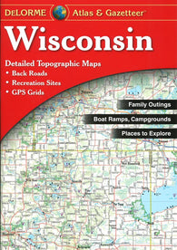 Buy map Wisconsin, Atlas and Gazetteer by DeLorme