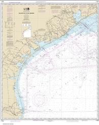 Buy map Galveston to Rio Grande (11300-43) by NOAA