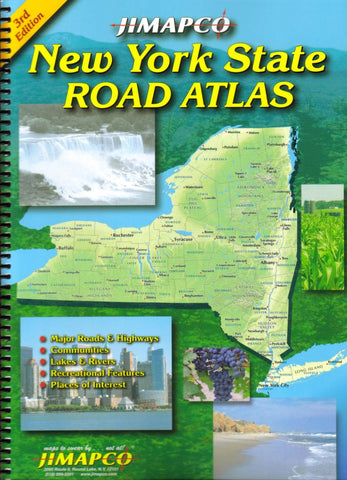 Buy map New York State, Road Atlas by Jimapco