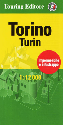 Buy map Torino, Italy Pocket Map by Touring Club Italiano