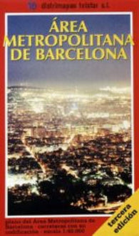 Buy map Barcelona, Metropolitan Area, Spain by Distrimapas Telstar, S.L.