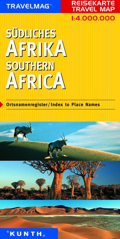 Buy map Southern Africa by Kunth Verlag