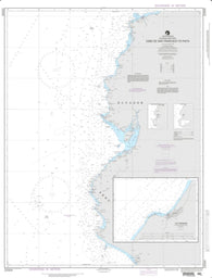 Buy map Cabo De San Francisco To Paita (NGA-22004-38) by National Geospatial-Intelligence Agency