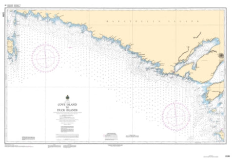 Buy map Cove Island to Duck Islands by Canadian Hydrographic Service