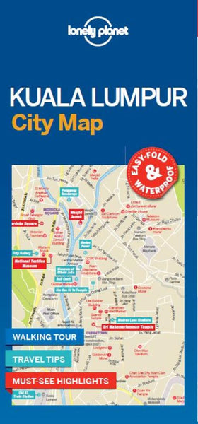Buy map Kuala Lumpur City Map by Lonely Planet Publications