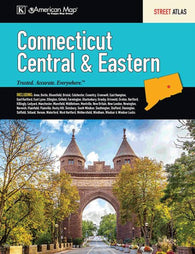 Buy map Connecticut, Central and Eastern, Street Atlas by Kappa Map Group