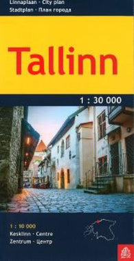 Buy map Tallinn by Jana Seta
