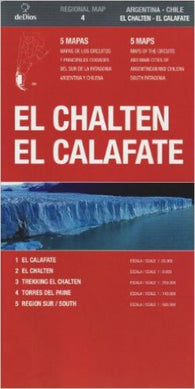Buy map El Chalten, Argentina and Chile by deDios