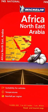 Buy map Madagascar and Africa, Central and South (746) by Michelin Maps and Guides