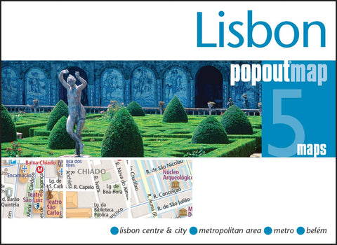 Buy map Lisbon, Portugal, PopOut Map by PopOut Products, Compass Maps Ltd.