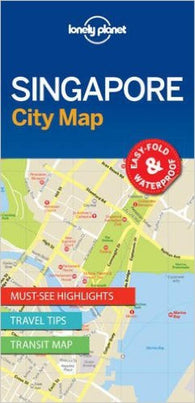 Buy map Singapore, City Map by Lonely Planet Publications