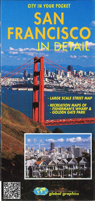 Buy map San Francisco, California, In Detail by Global Graphics
