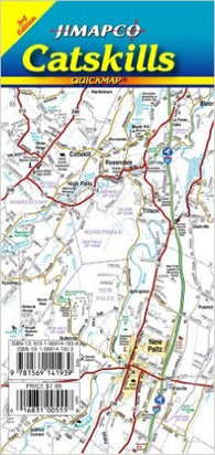 Buy map Catskills, New York, Quickmap by Jimapco