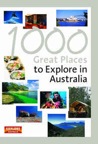 Buy map 1000 Great Places to Explore in Australia by Universal Publishers Pty Ltd