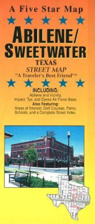 Buy map Abilene and Sweetwater, Texas by Five Star Maps, Inc.