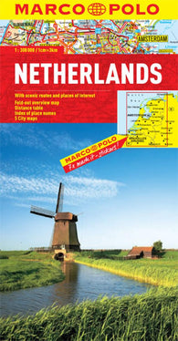 Buy map Netherlands by Marco Polo Travel Publishing Ltd