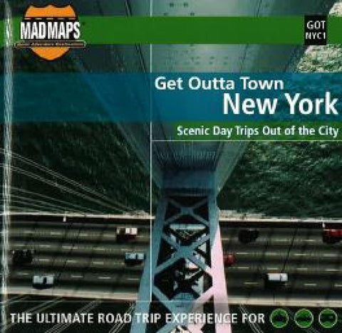 Buy map New York, New York, Get Outta Town by MAD Maps