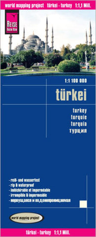 Buy map Turkey and Cyprus by Reise Know-How Verlag