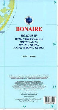 Buy map Bonaire, Dutch Caribbean, Road Map by Kasprowski Publisher