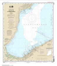 Buy map Ashland and Washburn harbors (14974-25) by NOAA