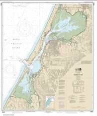 Buy map Humboldt Bay (18622-55) by NOAA