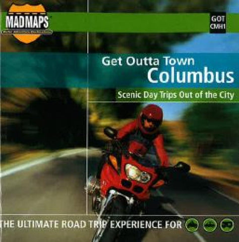 Buy map Columbus, Ohio, Get Outta Town by MAD Maps