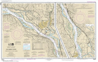 Buy map Columbia River Crims Island to Saint Helens (18524-37) by NOAA