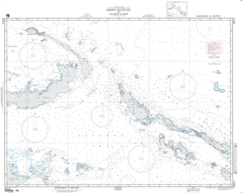 Buy map Bismarck Archipelago And Solomon Islands (NGA-82010-6) by National Geospatial-Intelligence Agency