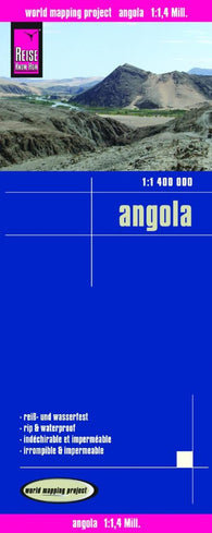 Buy map Angola by Reise Know-How Verlag