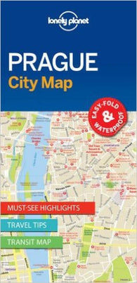 Buy map Prague, Czech Republic City Map by Lonely Planet Publications