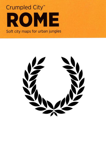 Buy map Rome, Italy Crumpled City Map by Palomar S.r.l.