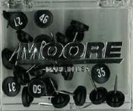 Buy map Black Push Pins Numbered 26 to 50 by Moore Push-Pin Co.
