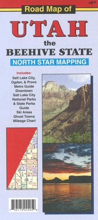 Buy map Road Map of Utah by North Star Mapping