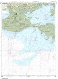 Buy map Vermilion Bay and approaches (11349-46) by NOAA