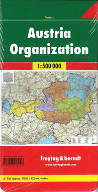 Buy map Austria, Organization by Freytag-Berndt und Artaria