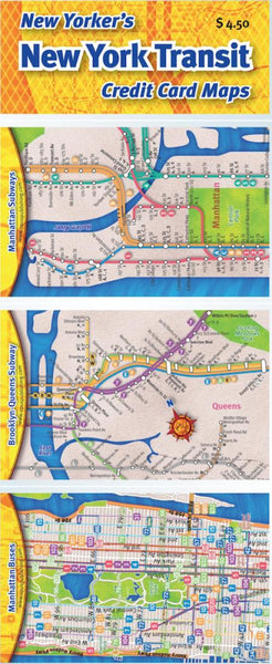 Buy map Credit Card Maps: New York City Transit Set by Opus Publishing