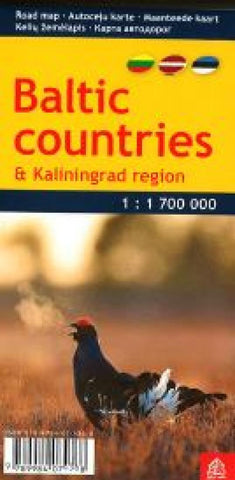 Buy map Baltic Countries and Kaliningrad Region, pocket-size by Jana Seta