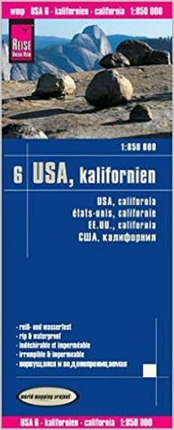 Buy map California by Reise Know-How Verlag