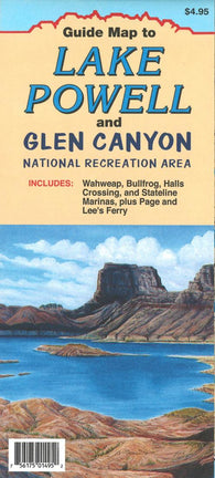 Buy map Lake Powell and Glen Canyon, Utah Recreation Map by North Star Mapping