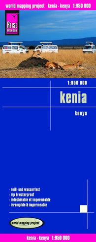 Buy map Kenya by Reise Know-How Verlag