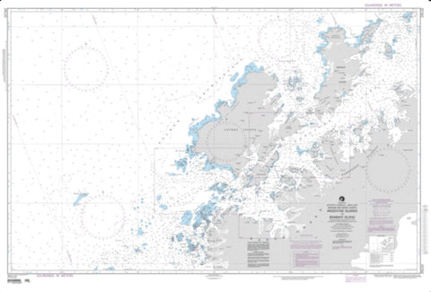 Buy map Argentine Islands To Brabant Islands (NGA-29122-5) by National Geospatial-Intelligence Agency