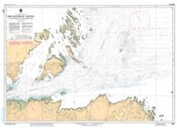 Buy map Baie Aux Feuilles/Leaf Bay et les Approches/and Approaches by Canadian Hydrographic Service