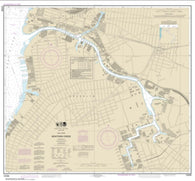 Buy map East River Newtown Creek (12338-11) by NOAA