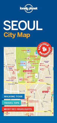 Buy map Seoul City Map by Lonely Planet Publications